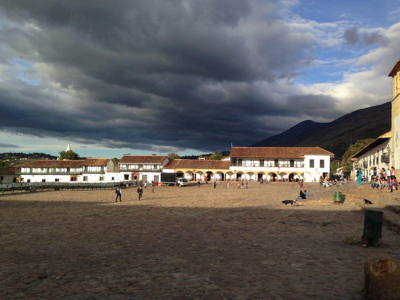 La petite ville de Villa De Leyva