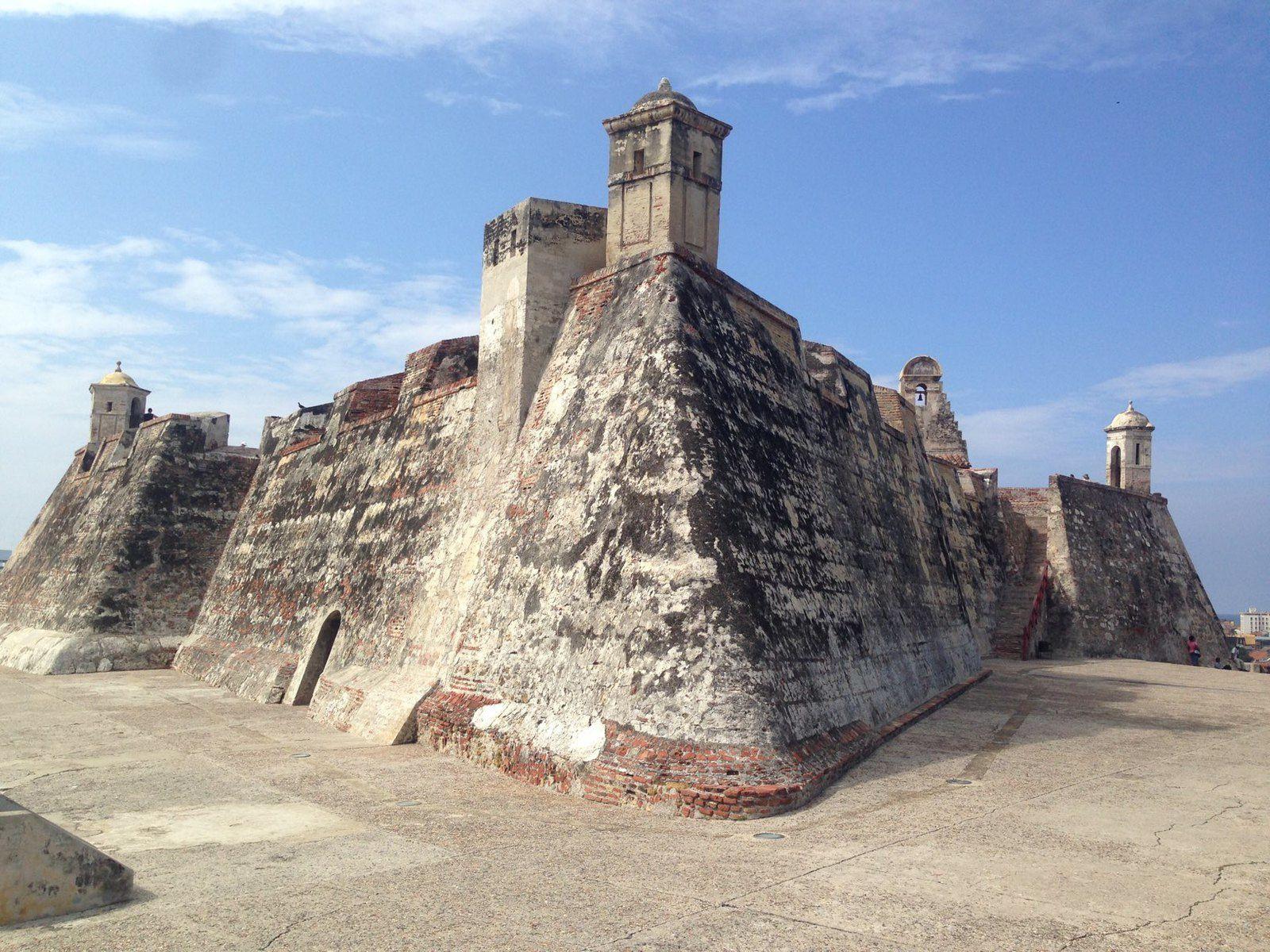 Le fort San Filipe de Barajaes XVI siècle.