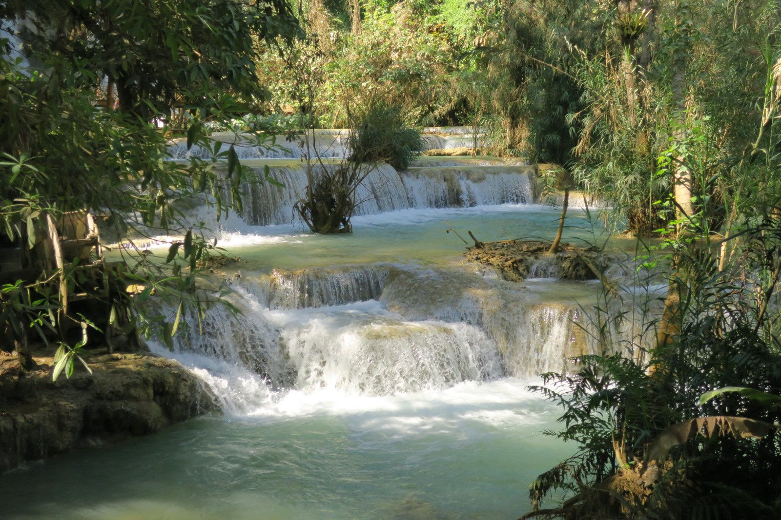 Les magnifiques chutes d'eau de LUANG PRABANG