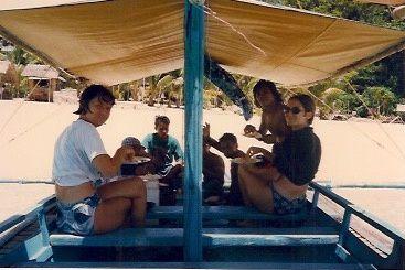 Surigao un petit paradis au milieu des enfants, des palmiers, des plages et îles et de sa nature.