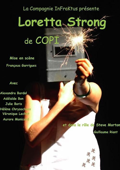 LORETTA STRONG - Compagnie InfraKtus (Centre d'animation Maurice Ravel - Mars 2005)