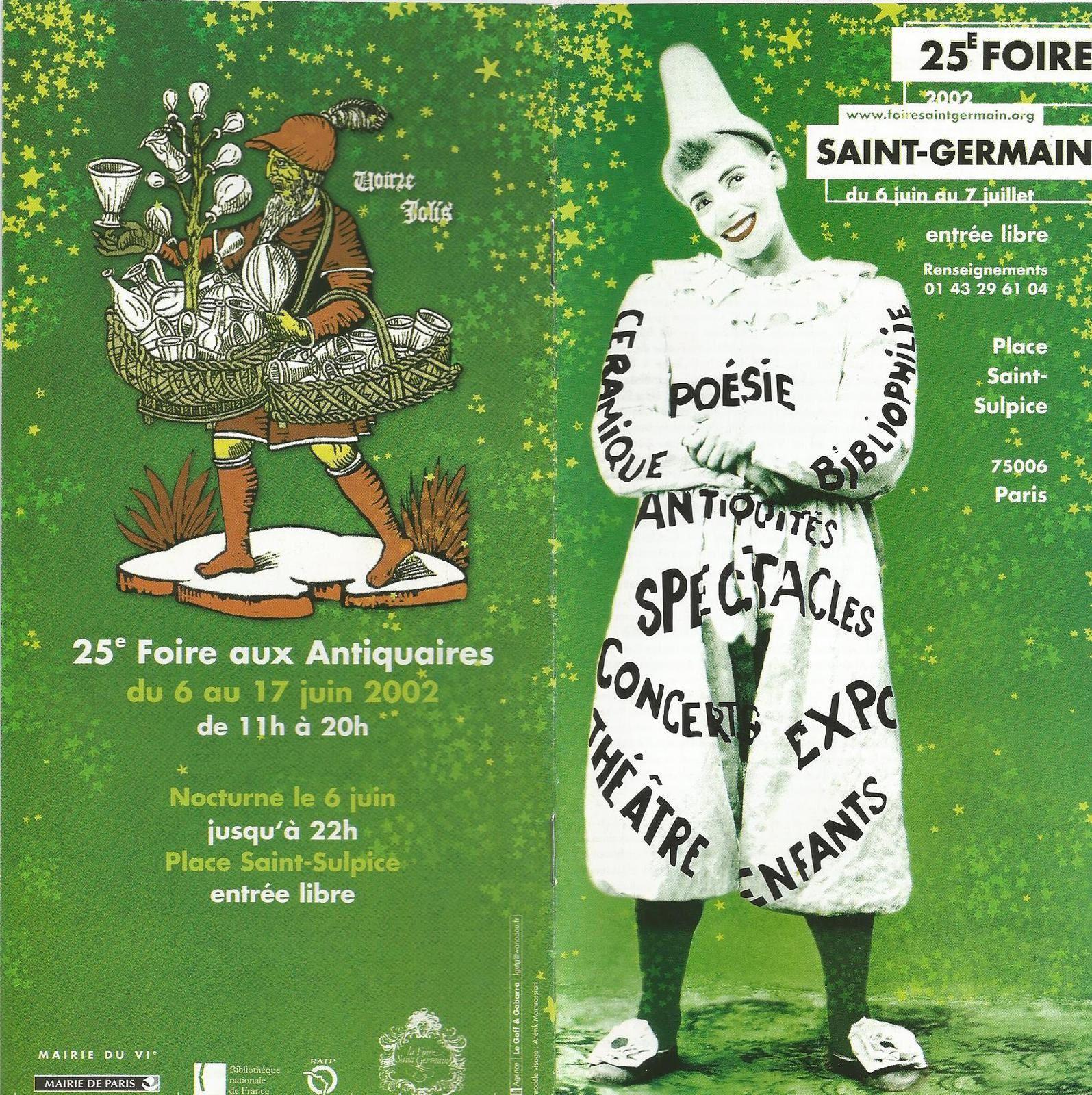 CABARET - Ecole Supérieure d'Art Dramatique de la Ville de Paris (Buvette de la 25° Foire Saint-Germain)