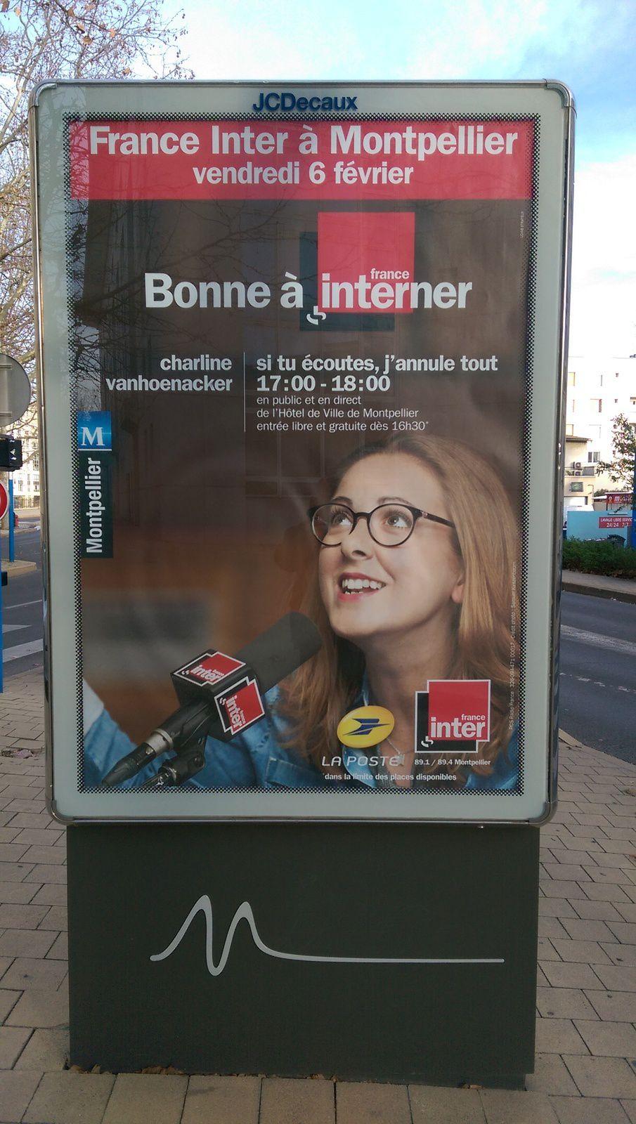 Les écrivains et Montpellier (France Inter)
