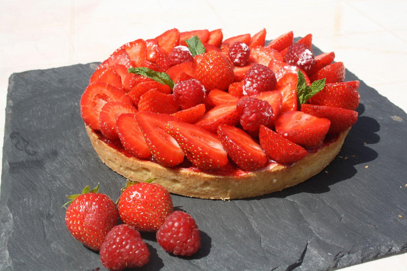 Tarte aux fraises de Philippe Conticini