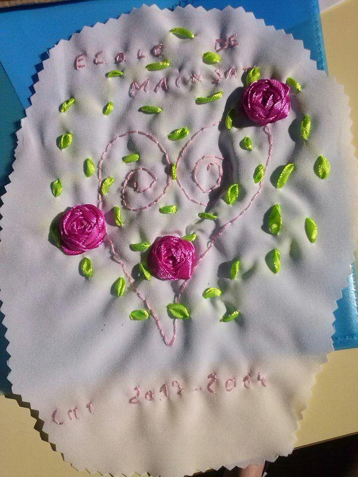Broderie école- cahier de vie 2013-2014