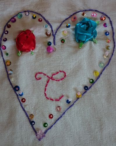 Ecole-broderies  Septembre 2015