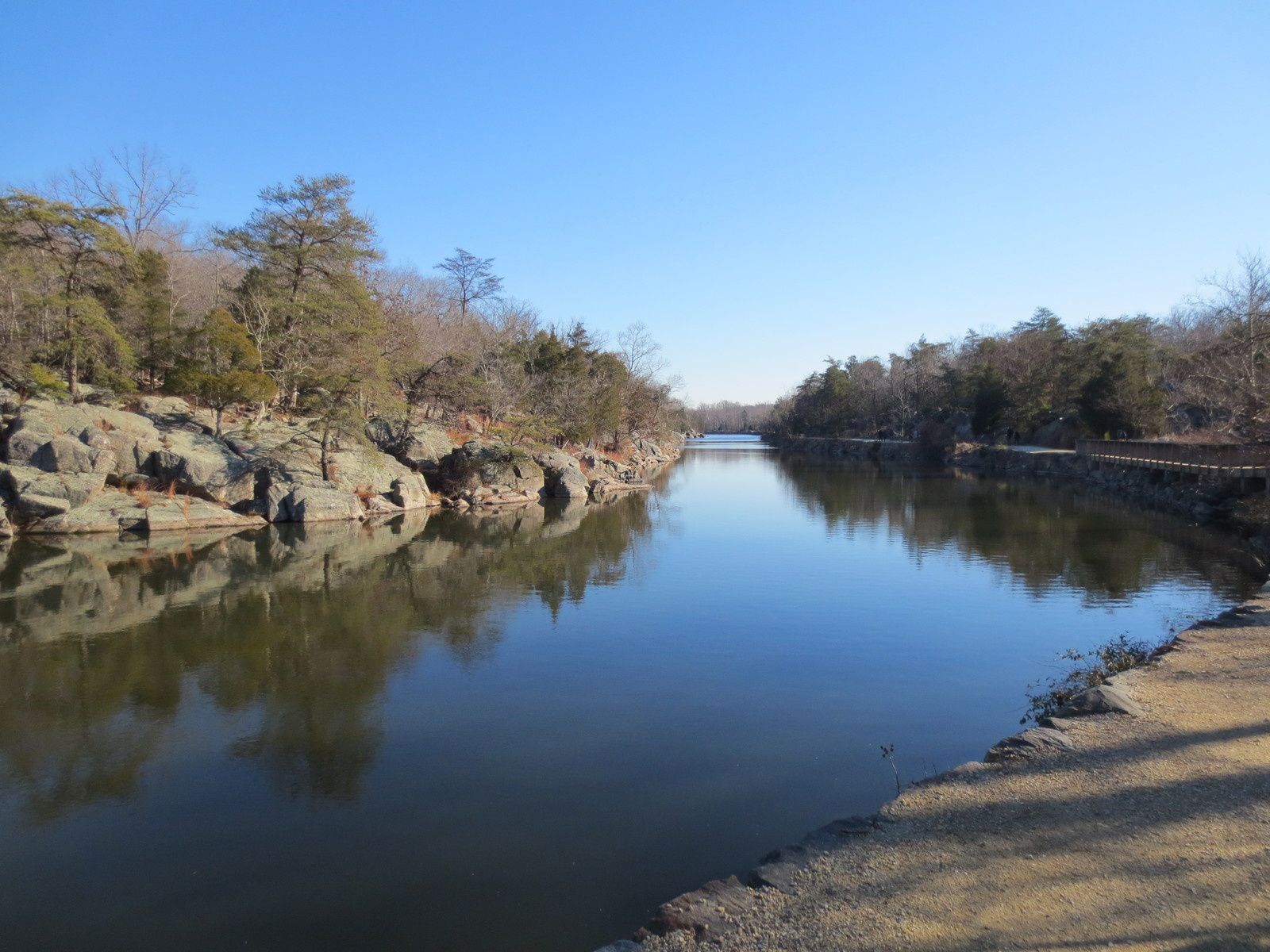 A proximité du Potomac