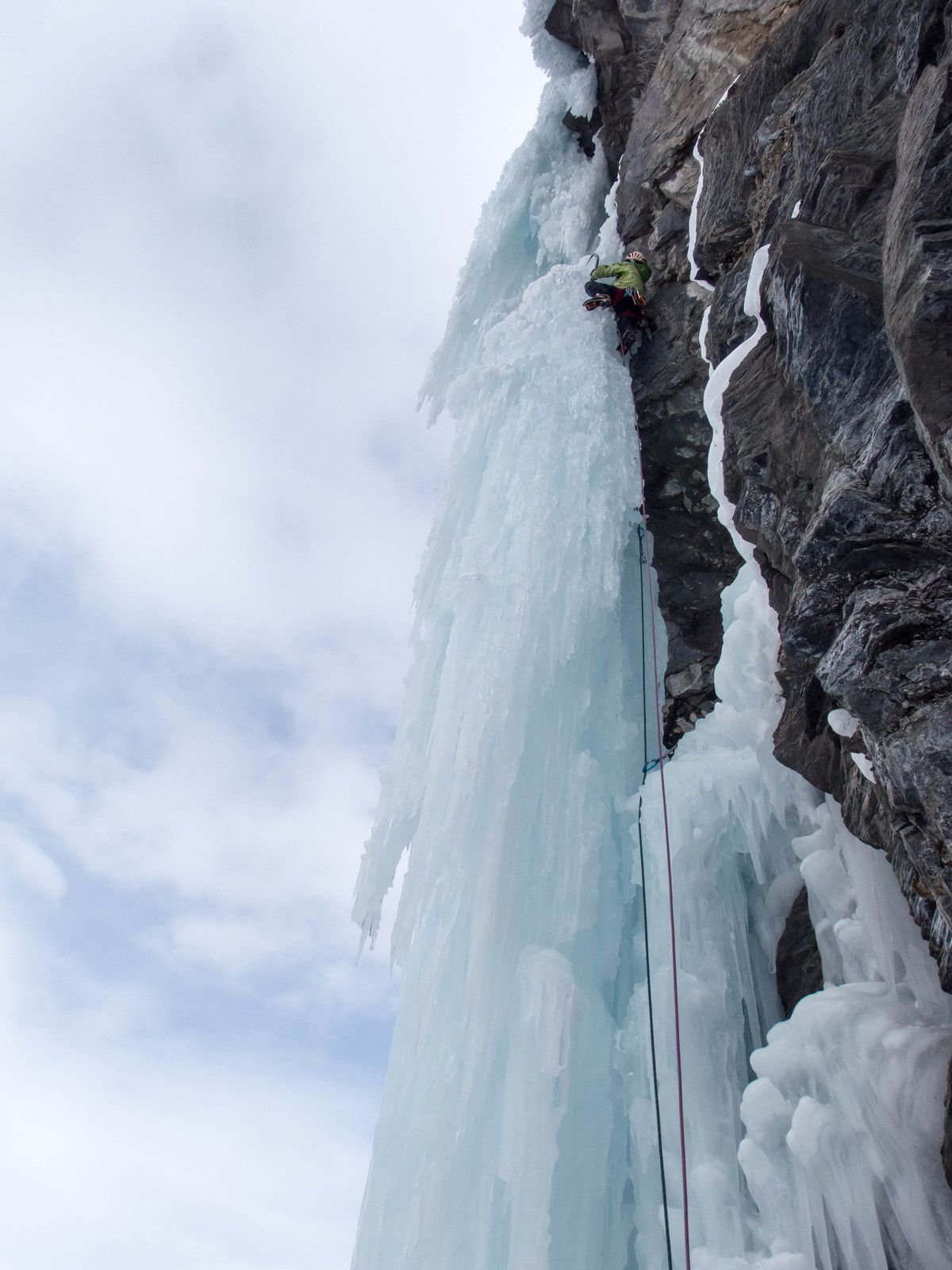 Ice fall connexion
