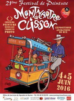 Exposition Montmartre à Clisson