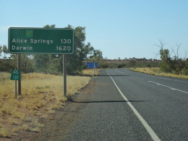 Retour à Alice Springs