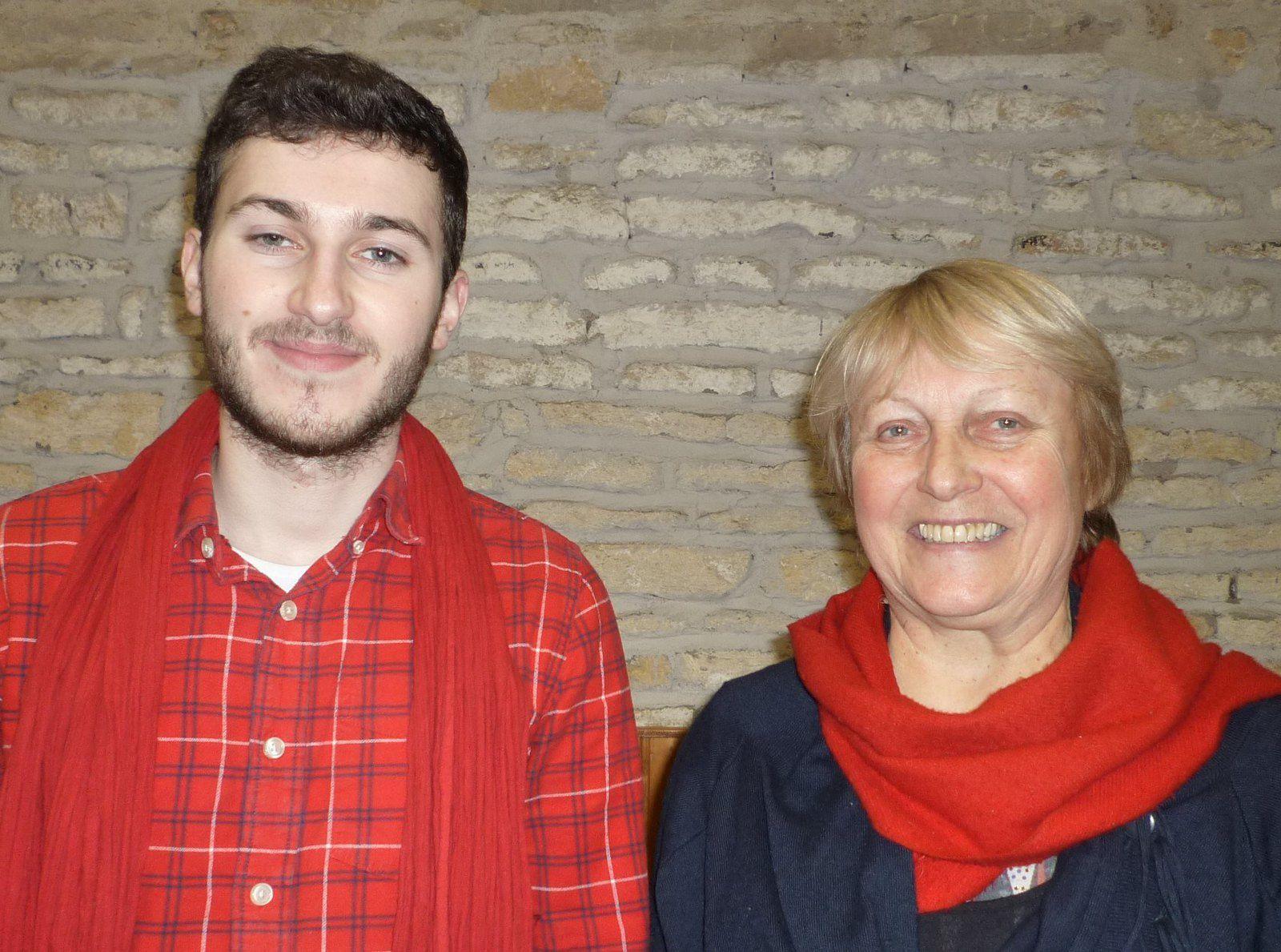 Barthélémy Boisson et Élisabeth Becker composent un duo de co secrétaires départementaux qui respecte la parité.