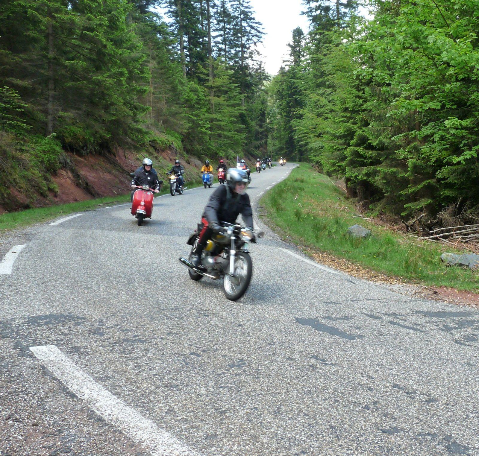 Sur la route entre le 67 et le 57 (Entre Granfontaine (67) et Abreschviller (57))