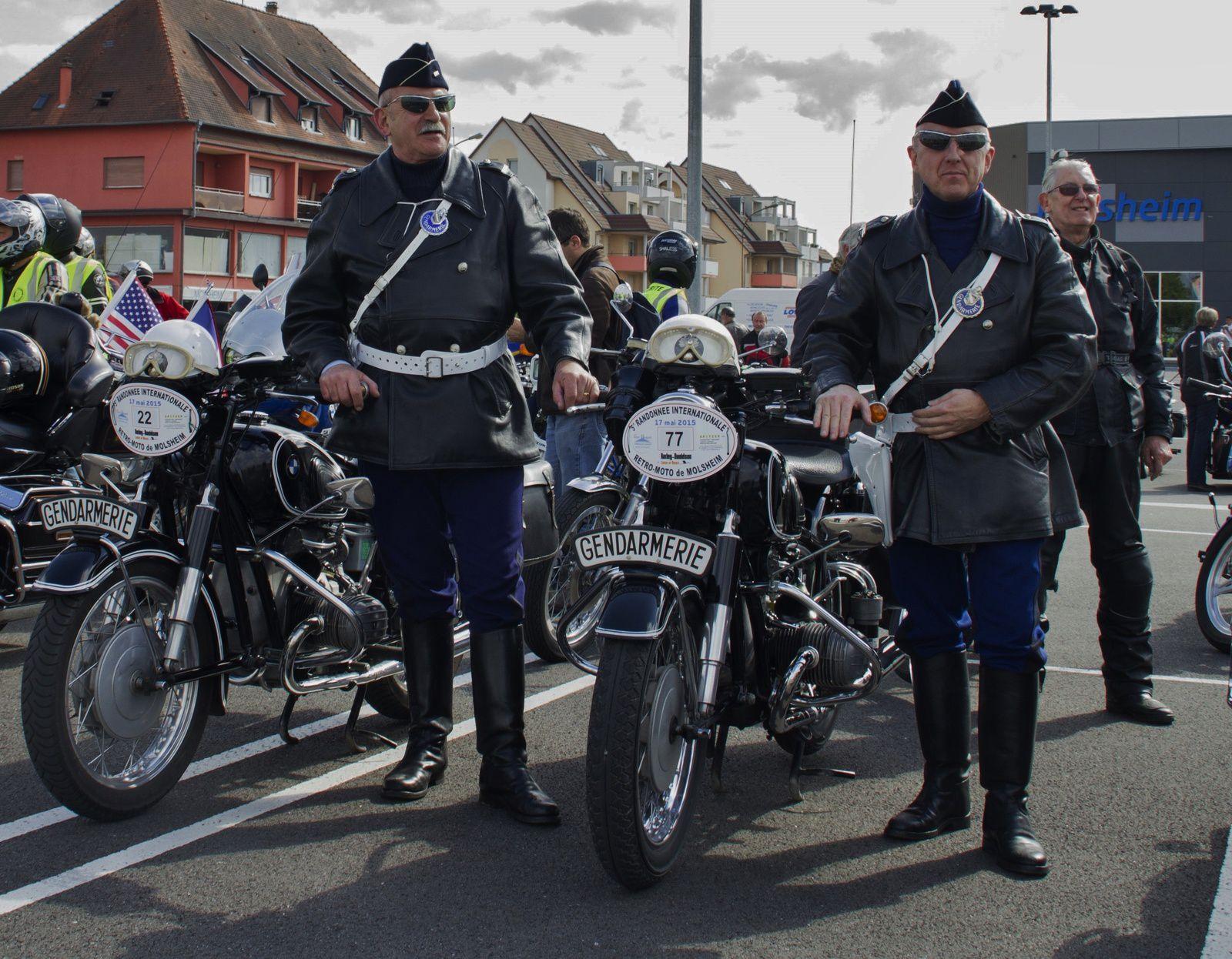 """Arrivée à Molsheim (Super """"U"""" et tour d'Honneur)"""