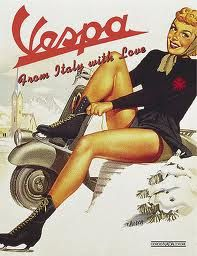 Les pin-up Piaggio