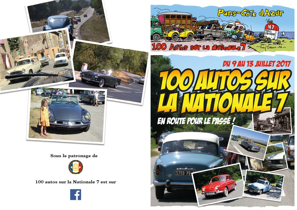100 autos sur la Nationale 7
