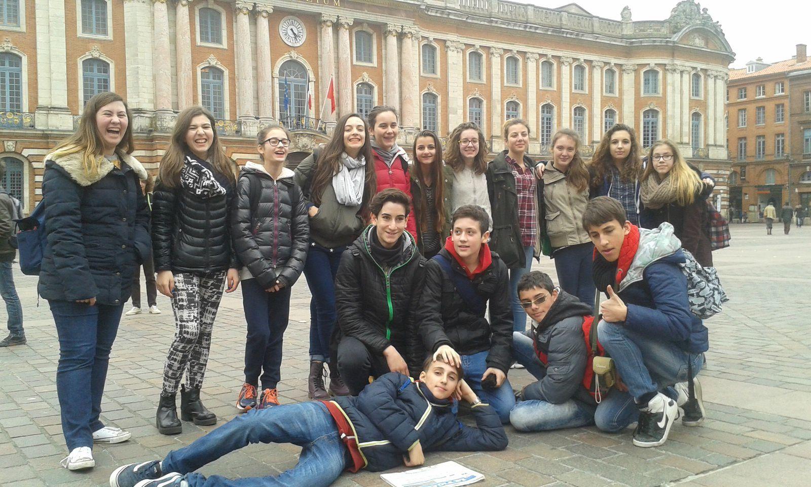 Nous voilà à Toulouse