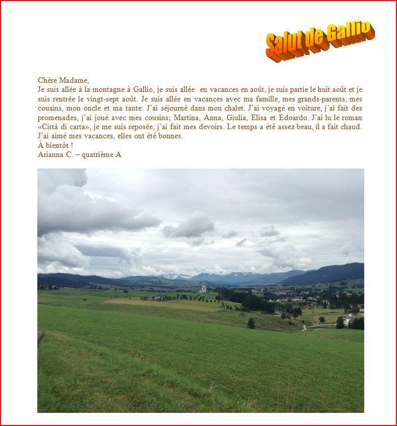 Gallio - Italie