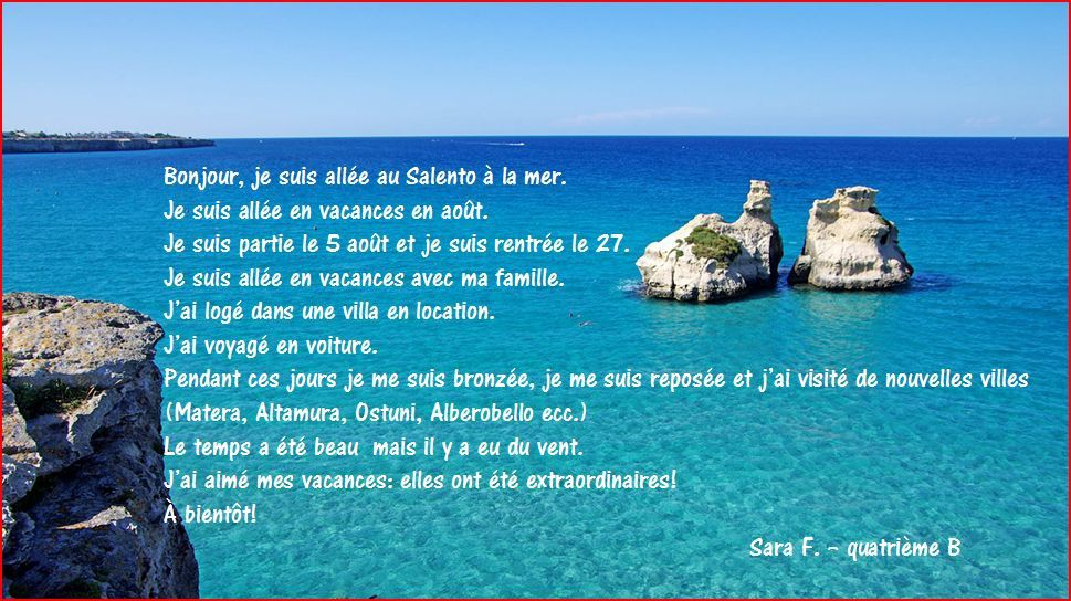 Image result for carte postale vacances