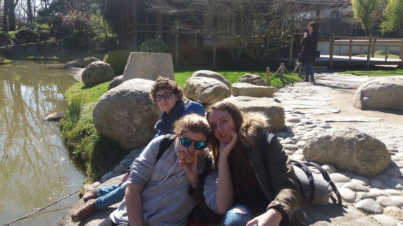 Cinquième jour: Toulouse - collège &quot&#x3B;Pierre de Fermat&quot&#x3B; et jardins japonais