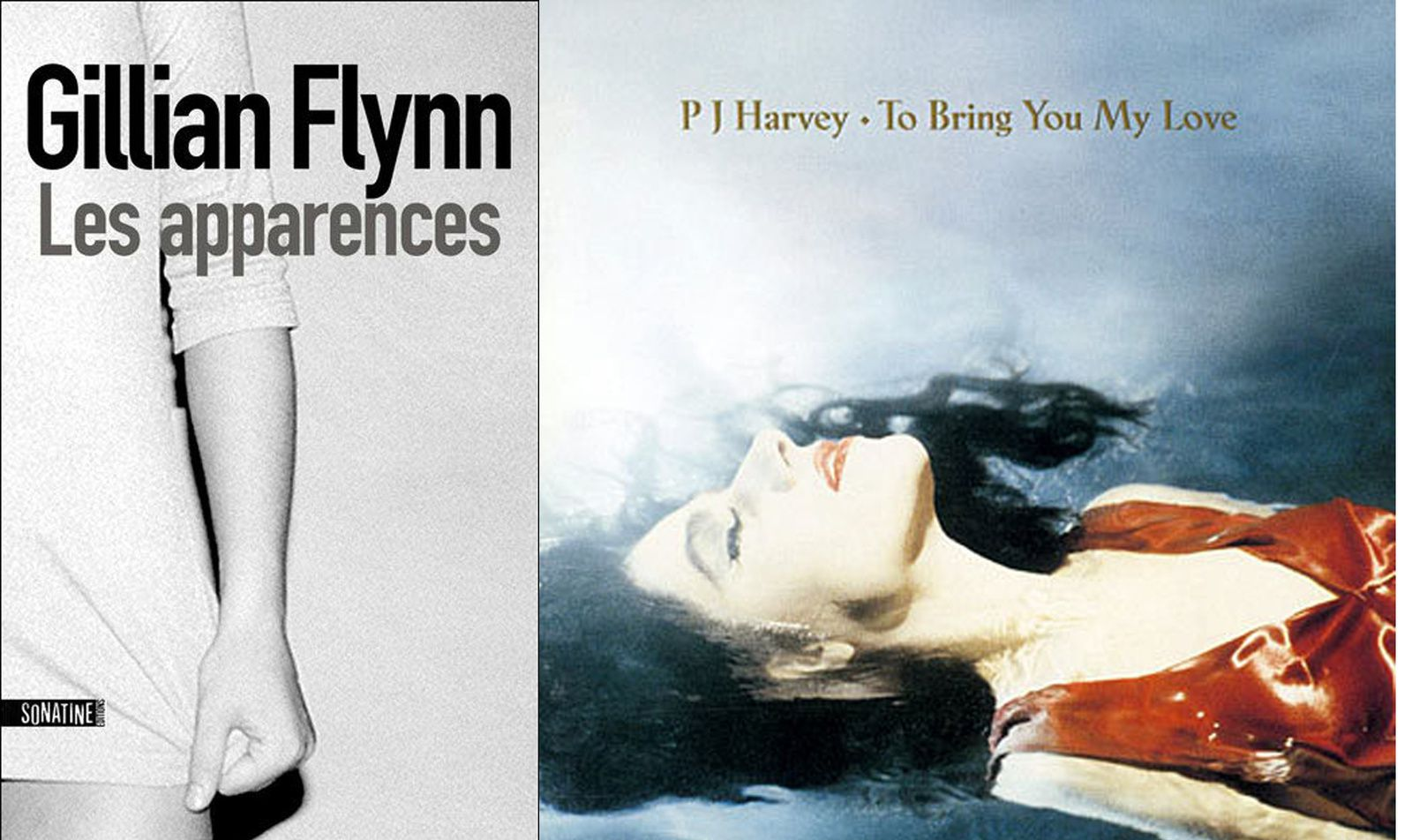 &quot&#x3B;Les apparences&quot&#x3B; de Gillian Flynn / PJ Harvey &quot&#x3B;To bring you my love&quot&#x3B;