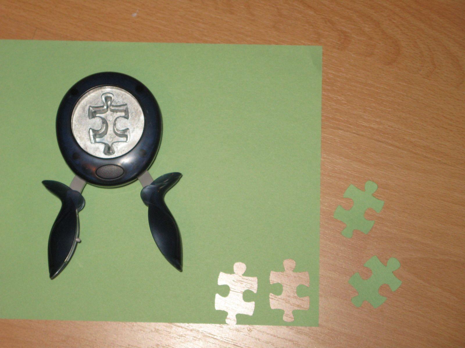 ma perforatrice piece de puzzle ! charlotteblabla blog*