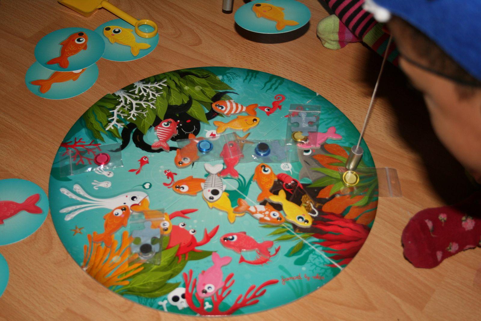 La pêche à la ligne Anniversaire, fête d'enfants la chasse au trésor marin