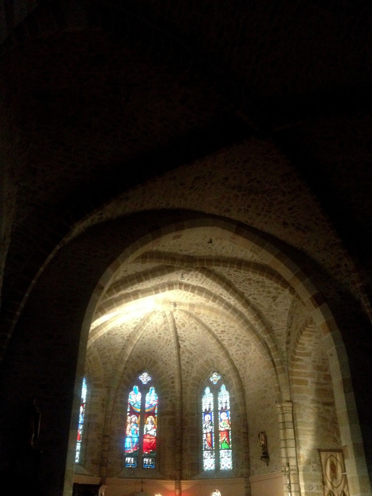 église d'Egliseneuve-pres-Billom. Auvergne, Puy de dôme, France.