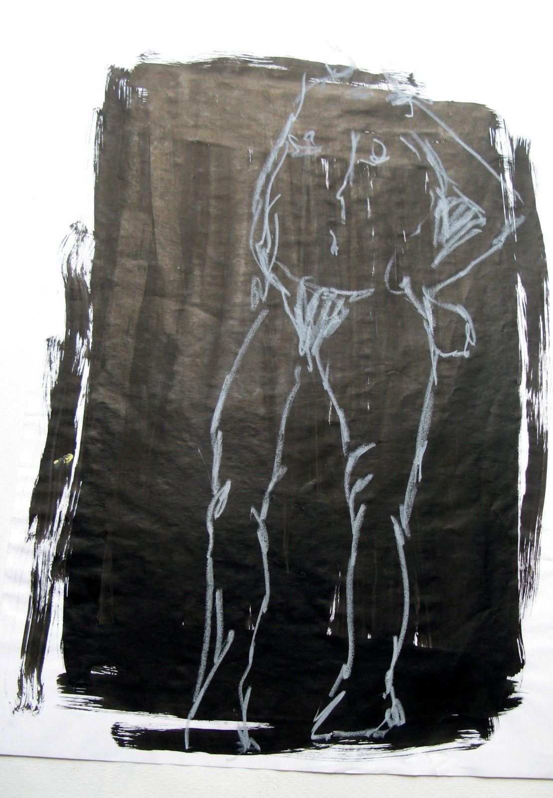 nu ou visage dessin de charlotte laforgue- charlotteblabla blog-