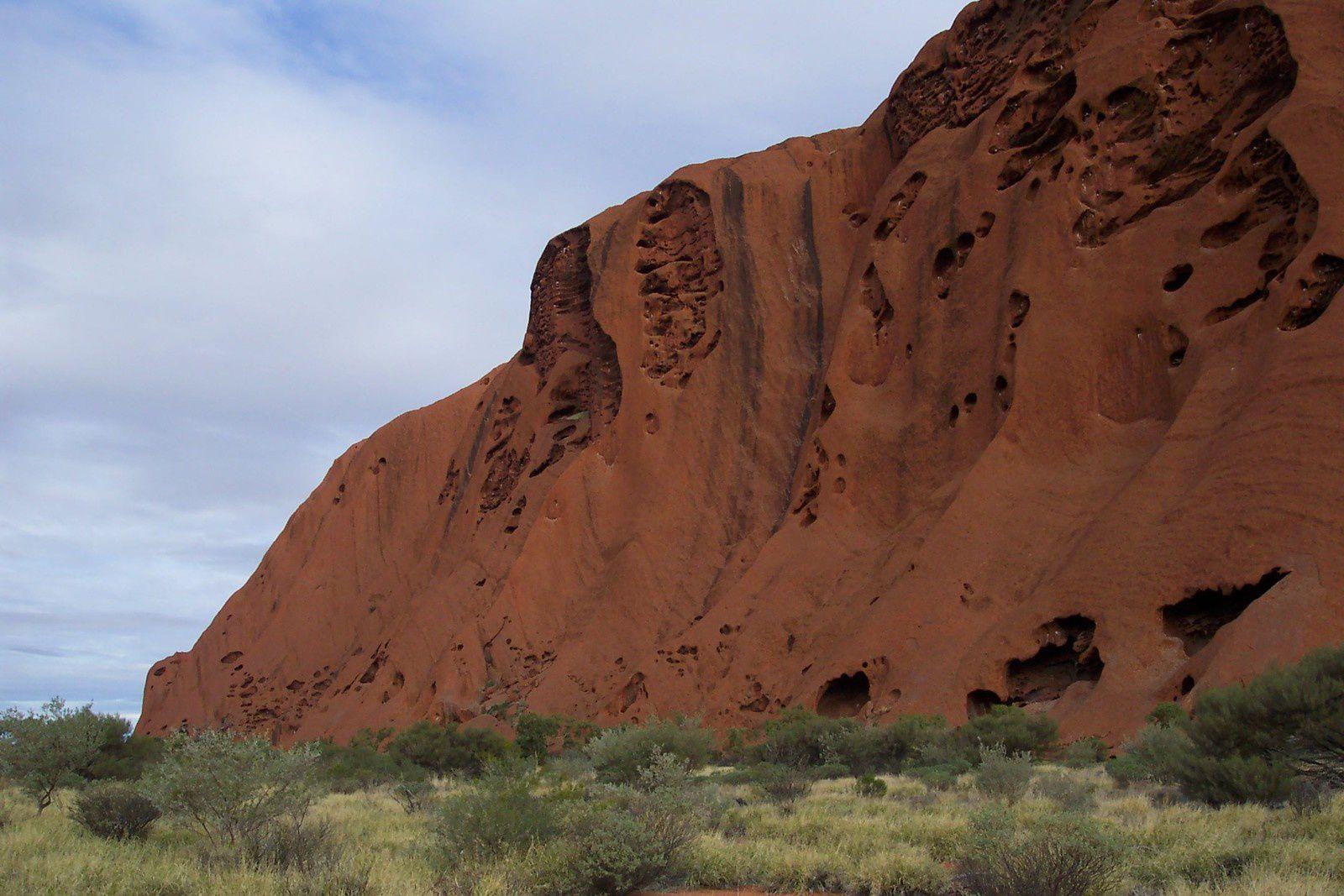 Uluru, Ayers Rock -charlotteblabla  road trip Australie 2004.