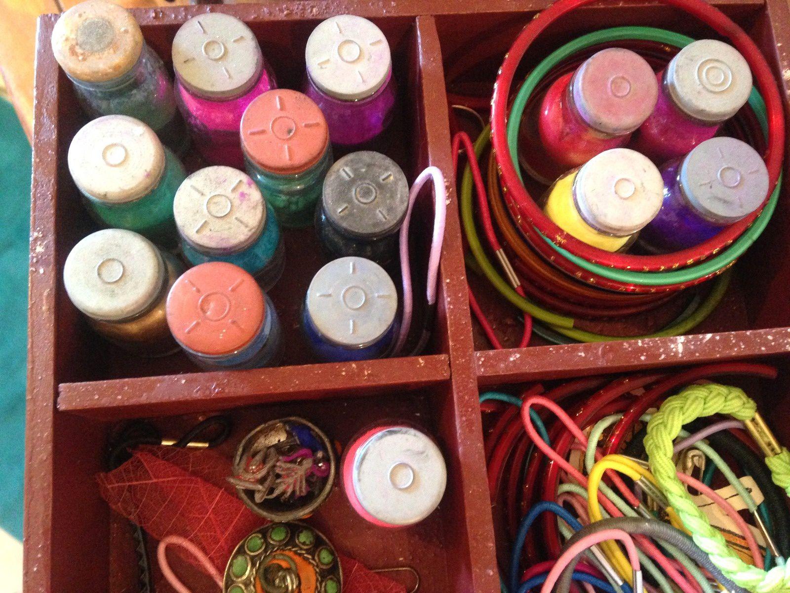 souvenirs d'inde tampons indiens - encre poudre - bracelets sur charlotteblabla blog*