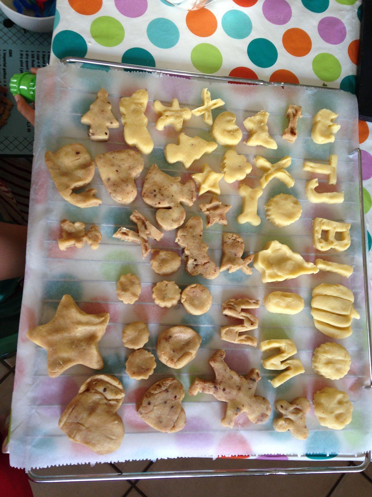 faire des gateaux petits  sables avec les enfants: sur charlotteblabla blog*