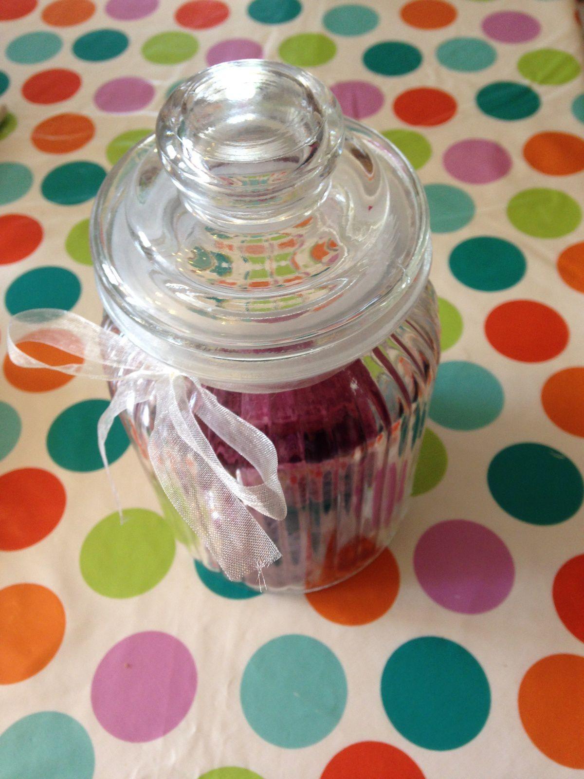 sables a la violette pot en verre- sur charlotteblabla blog*