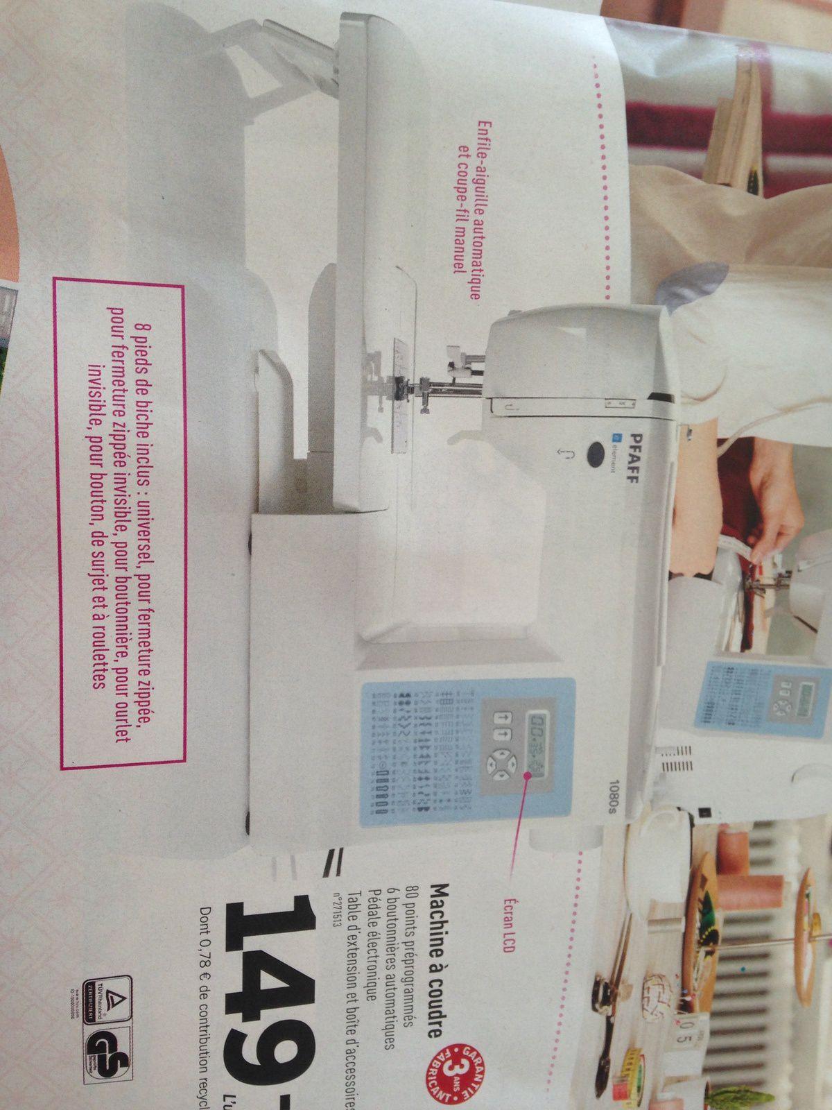 Machines à coudre chez Lidl sur charlotteblabla blog