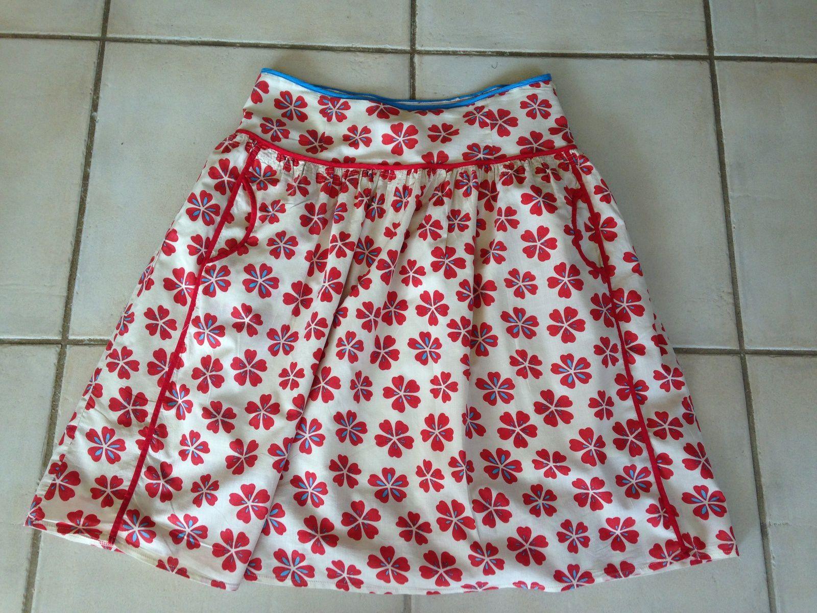 tramsformer une robe en jupe sur charlotteblabla blog*