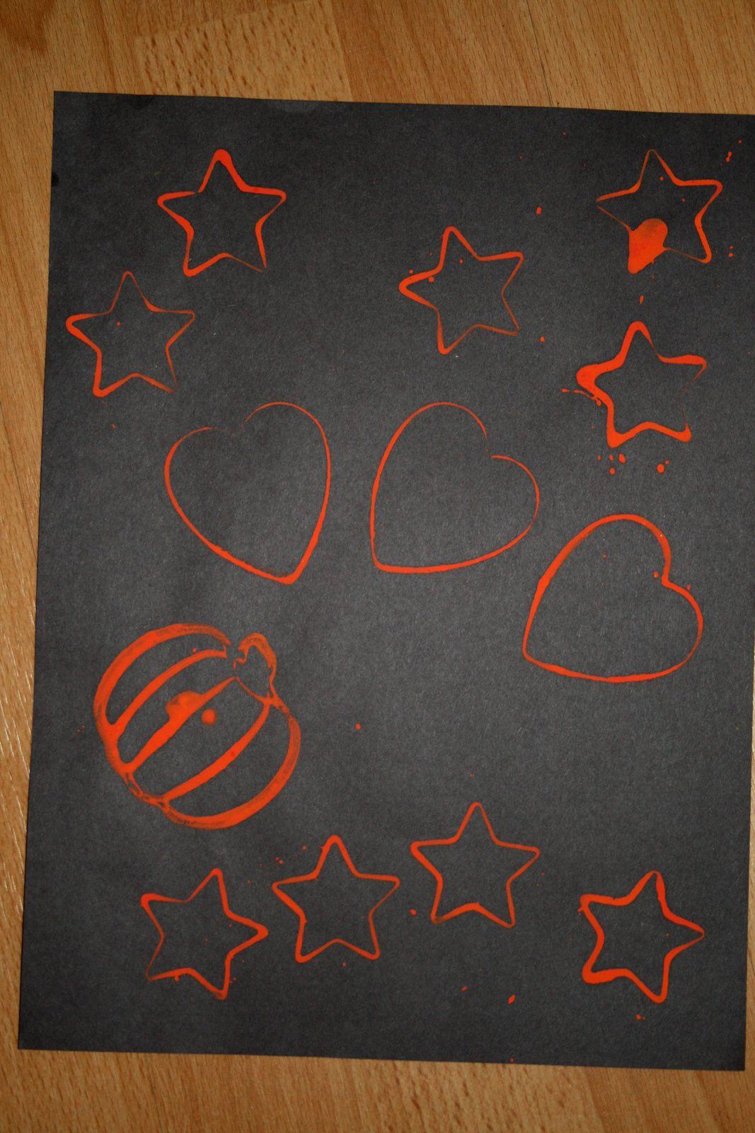 Diy enfant citrouille hallowenn - enmporte piece peinture sur charlotteblabla blog*