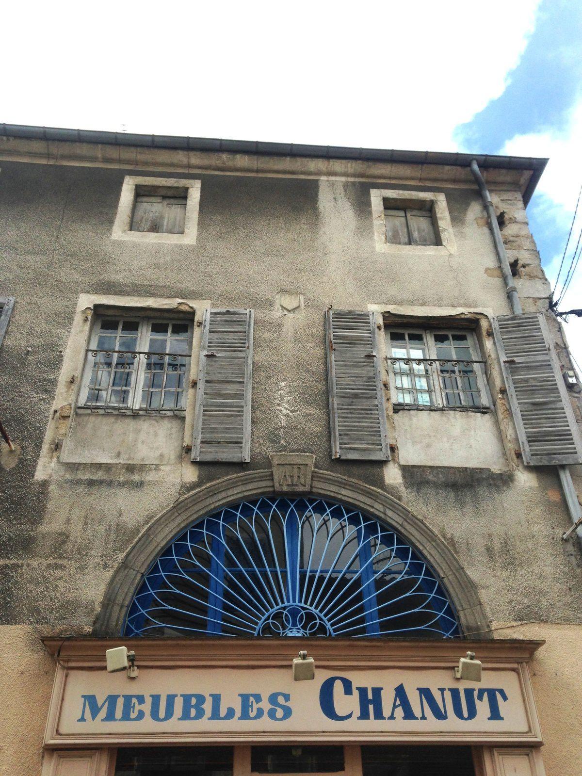 À Ambert, Auvergne, Puy de dôme, France. sur charlotteblabla blog*