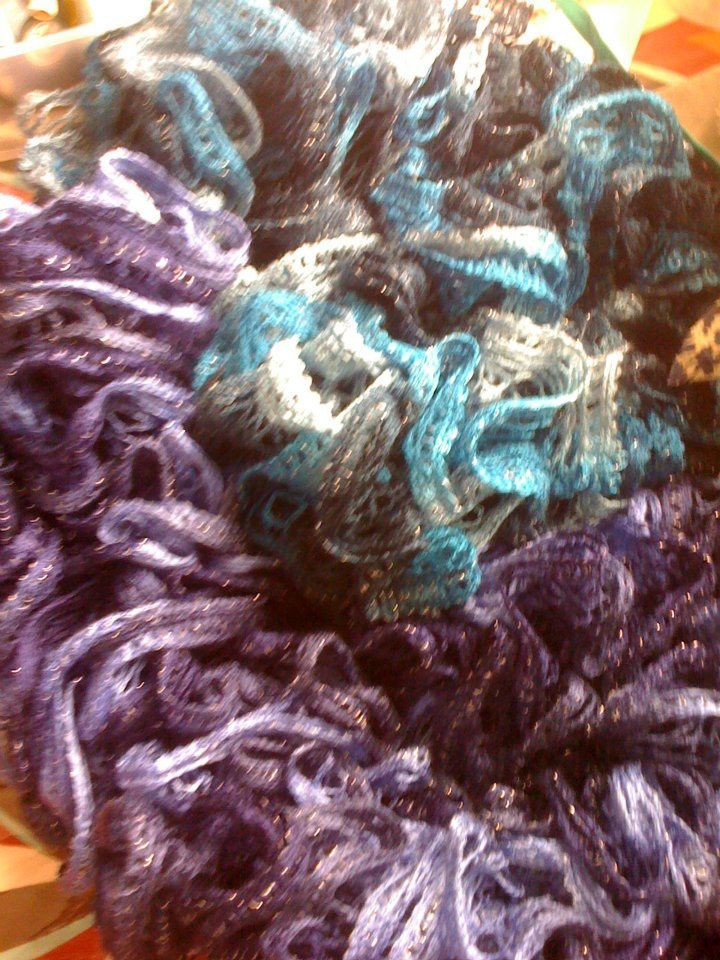 tricot echarpe - charlotteblabla blog