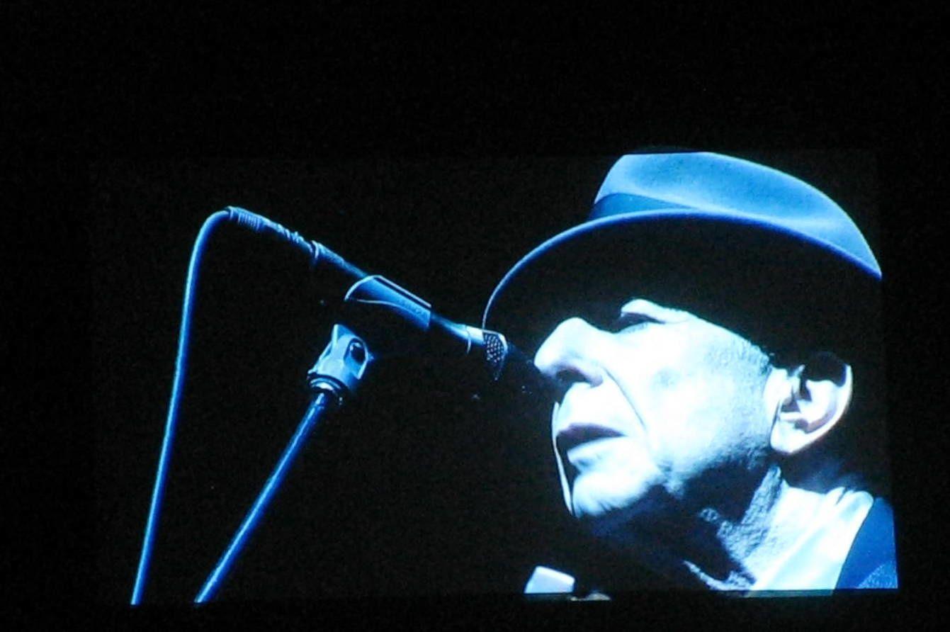 Concert Leonard Cohen sur charlotteblabla blog*