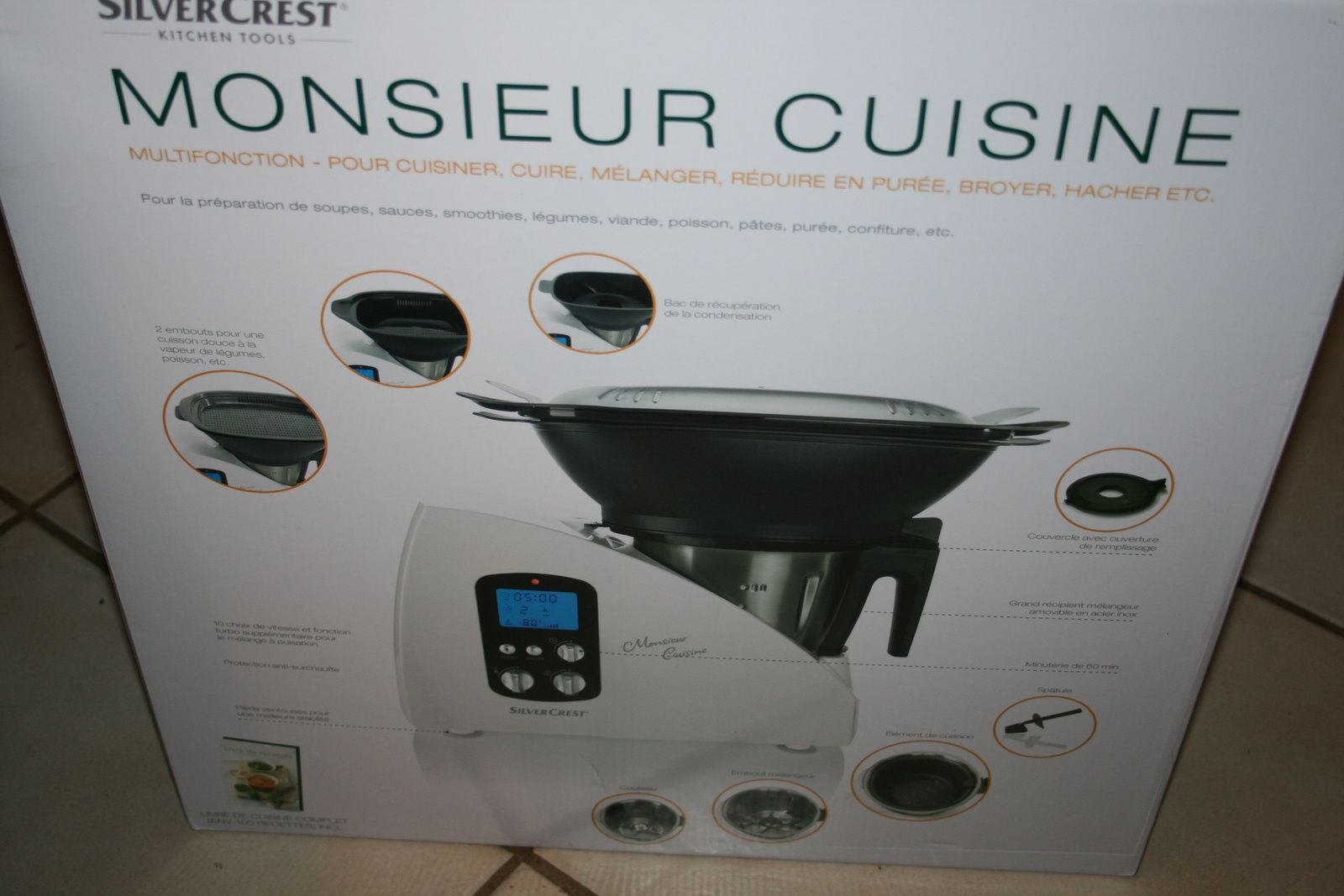 Robot m nager silvercrest lidl for Silvercrest monsieur cuisine plus