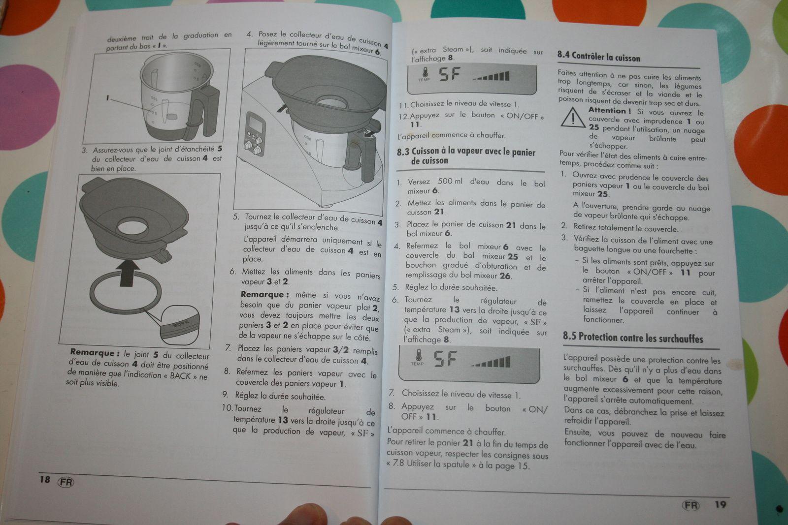 le robot monsieur cuisine silvercrest de chez lidl mode d 39 emploi charlotteblabla. Black Bedroom Furniture Sets. Home Design Ideas