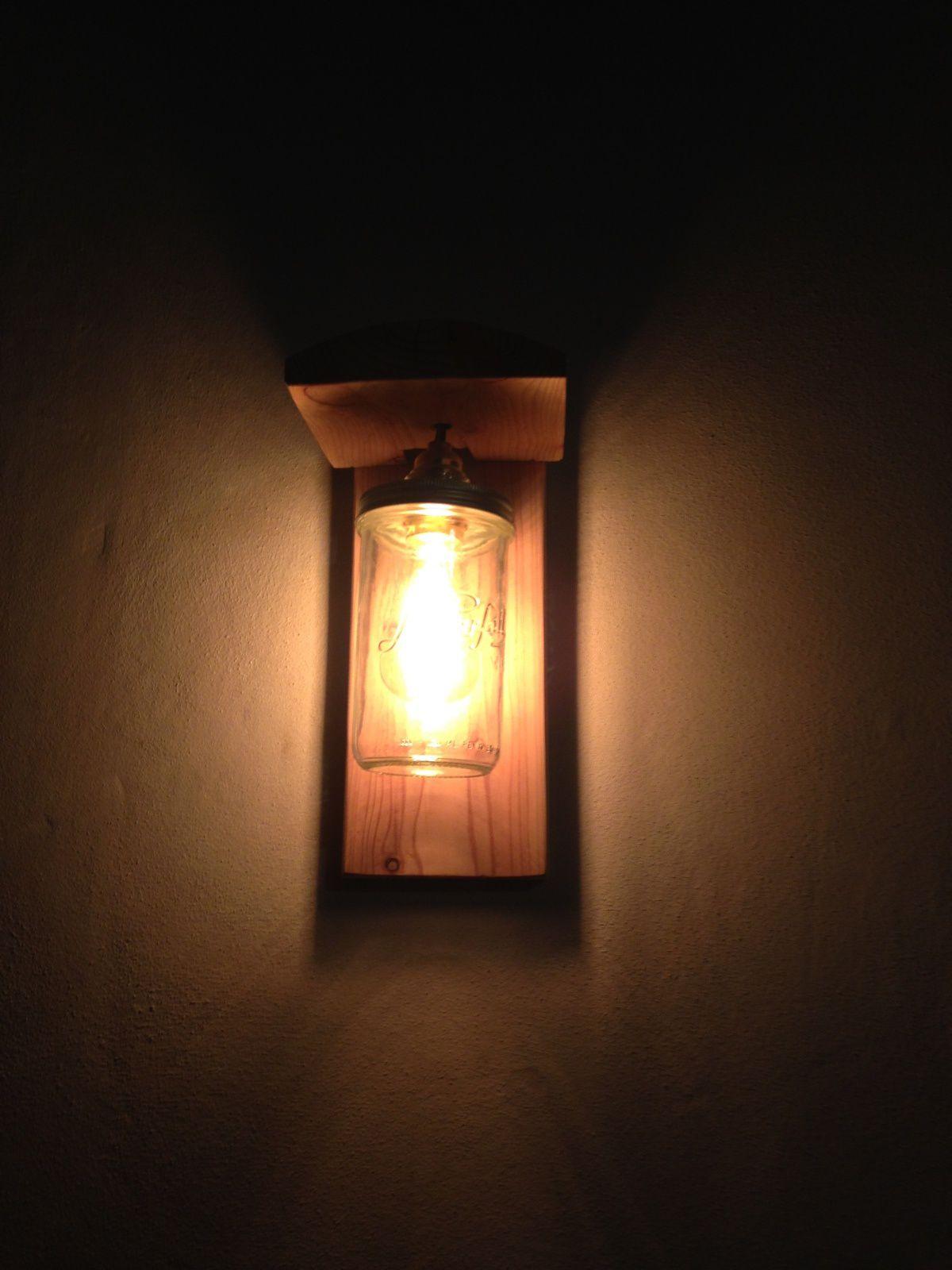 #diy #lampe #bocal #parfait #charlotteblabla