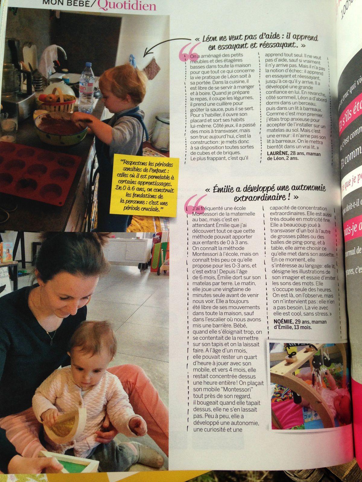 #montessori #article #magazineparents #charlotteblablablog