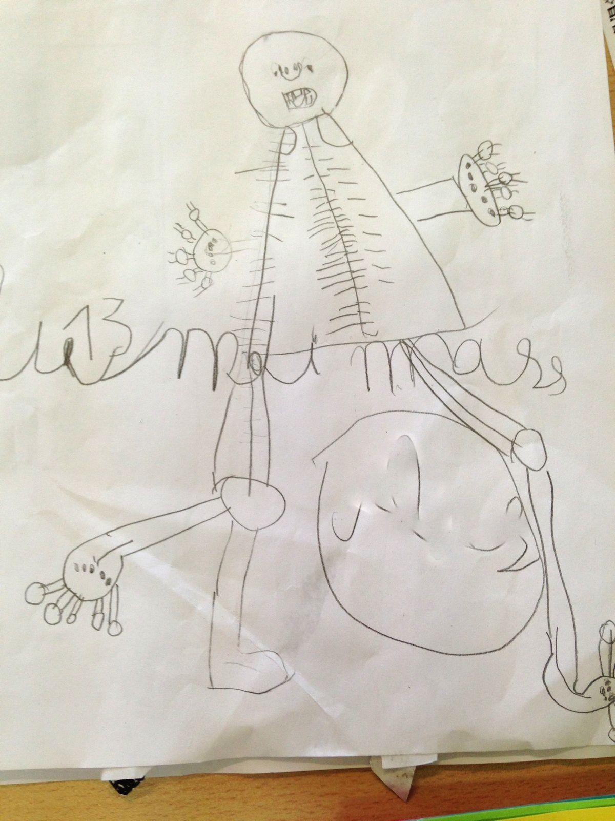 #squelette #diy #enfant #maternelle #charlotteblabla blog