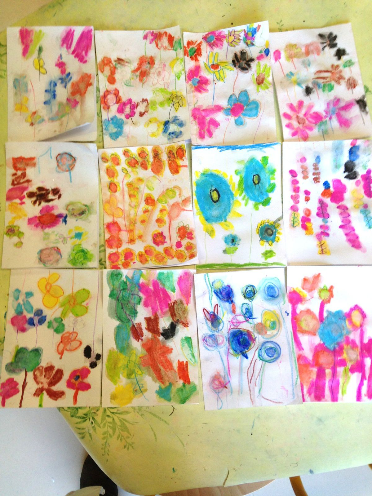 #diy #enfant #fleur #art #charlotteblablablog