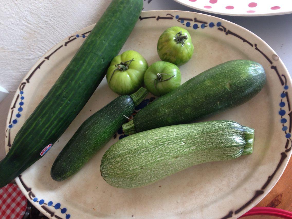 J'aime les légumes vertes!