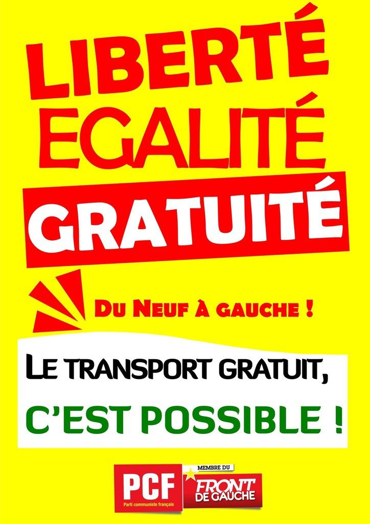 LA GRATUITE DES TRANSPORTS EN COMMUN CONTRE LA POLLUTION