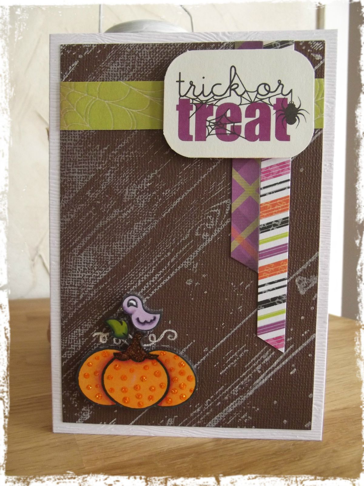 Carte Trick or treat