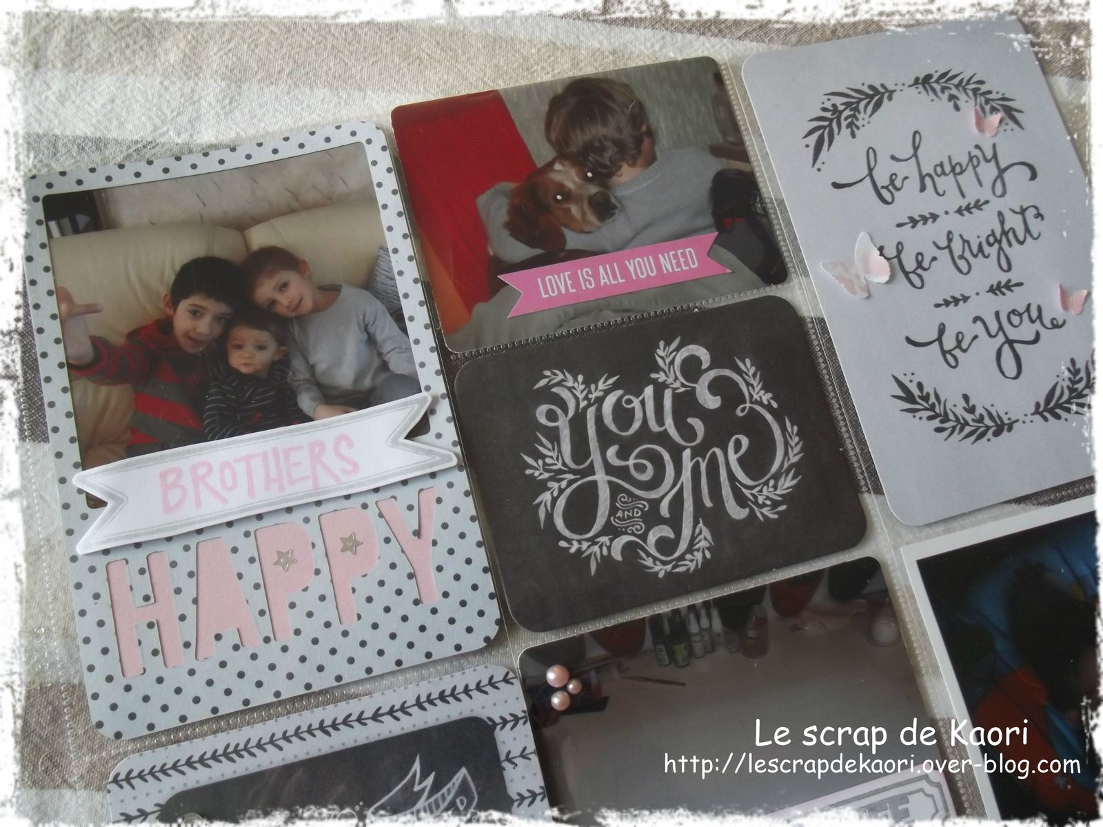 Project Life : semaine 1