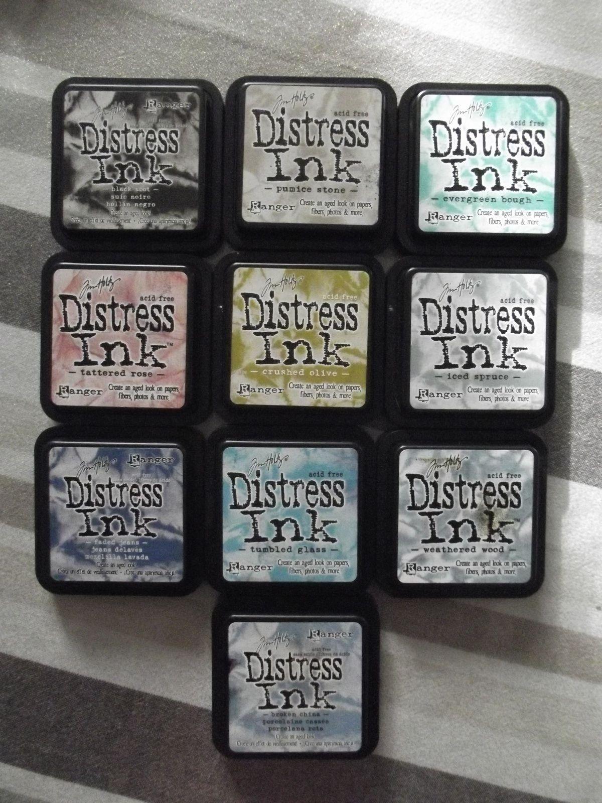 Vends lot de Distress [vendu]