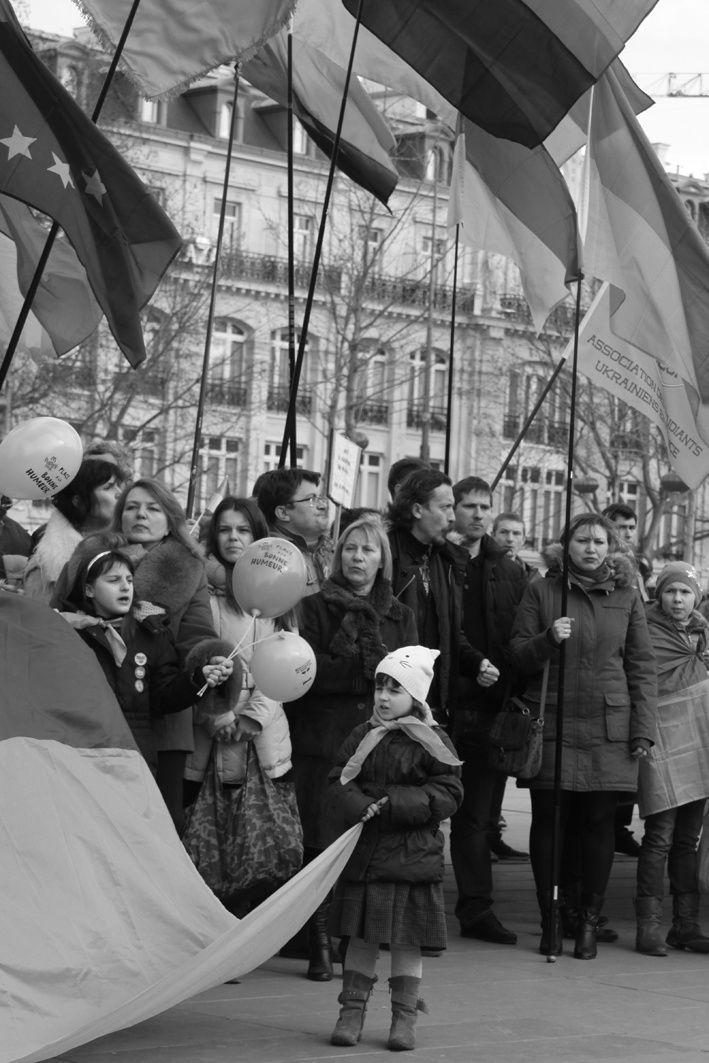 Ukraine, Place de la République - Paris